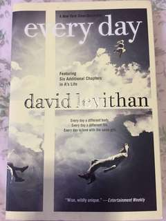 Every day by David Levithan; Novels