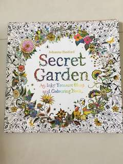 🚚 Secret Garden Colouring Book