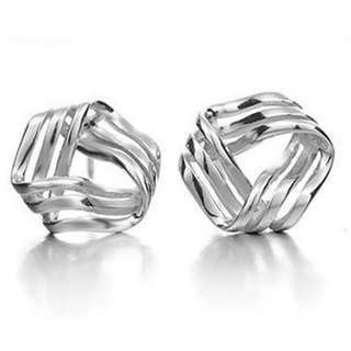 Elegant Streamlined Earrings