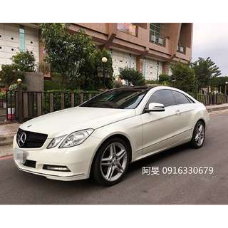 2011年 Benz E350 Coupe Amg 全景天窗