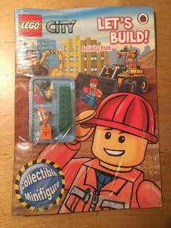 Ladybird Let's Build! LEGO City Activity Book