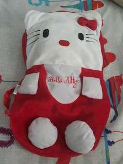 Tas anak (hello kitty merah)