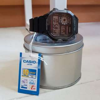 CASIO Watch 手錶 AE-1200WH-1AV