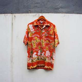 Get Arnie Hawaiian Styled Shirt Kemeja Sun Surf Supreme Bape