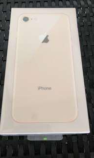 Brand new iPhone 8 256gb gold