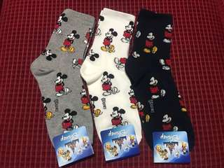 ( 3 FOR 260 PHP) MICKEY MOUSE SOCKS