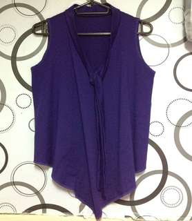 Tie knot Sleeveless Top