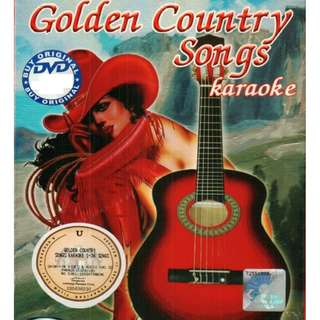 Golden Country Songs Karaoke DVD