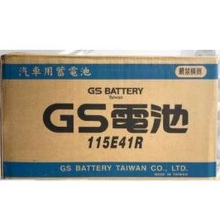 (請先詢價) 統力 GS 115E41L 115E41R 加水式電池