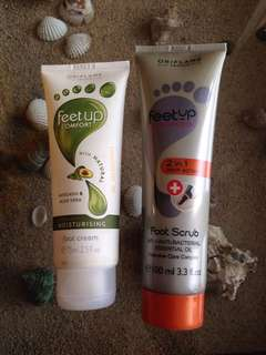 ORIFLAME FOOT CARE AND SCRUB