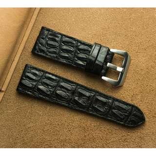 🚚 Panerai watch band / strap Crocodile leather, Panerai watch band / strap 24mm, Panerai watch band / strap 22mm, Panerai watch band / strap custom