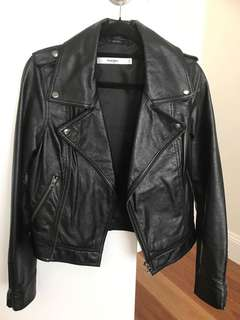 Wrangler Leather Jacket