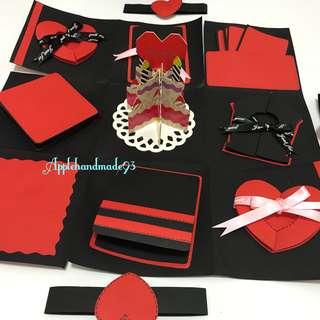 Birthday cake Explosion gift box