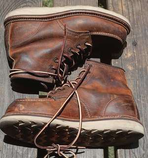 Red wing 1907 copper rough and tough