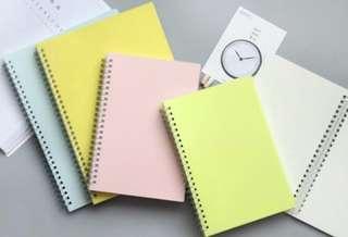 [IN] [NB] A5 / B5 Muji Inspired Notebooks