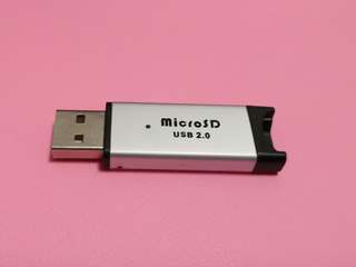 [Tested]USB 2.0 micro-sd card reader incl. Surface mail