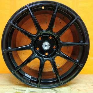 18inch SPORT RIM RACING SSR GTX01 LIGHT WEIGHT WHEELS BENZ VW HONDA TOYOTA PROTON