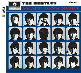 A Hard Day's Night Beatles Album Replica