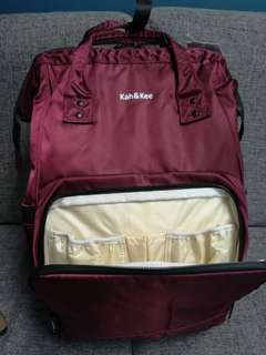 Kah & Kee Anello Sister Brand Insulated Waterproof Diaper Bag