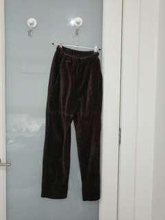 Retro Vintage velvet pants