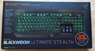 BNIB SEALED Razer Blackwidow Ultimate Stealth (Non Backlit)