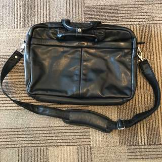 Picard full leather Laptop Bag