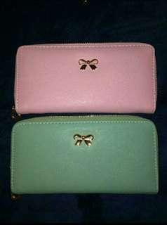 Korean ribbon wallet Buy 1 take 1