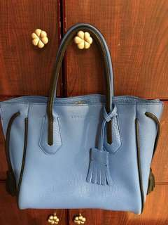 95%new Longchamp 真皮袋