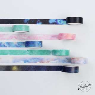[IN] [WT] Galaxy Washi Tapes : Instocks