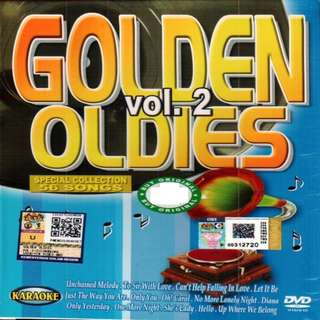 Golden Oldies Vol.2 Karaoke DVD