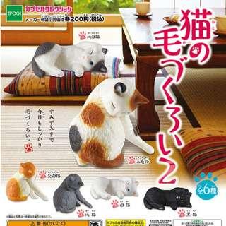 【訂購】EPOCH 貓咪的美容 第二彈 扭蛋