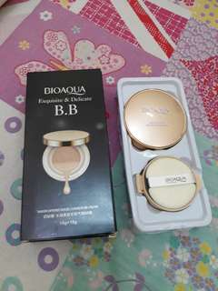 Bio aqua BB cushion exquisite & delicate