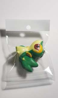 Authentic Nintendo Pokemon Keychain Strap Snivy