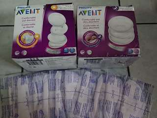Brand new Avent Breast Pads