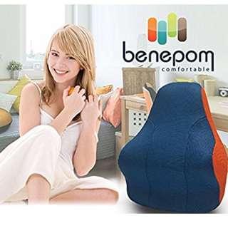韓國Benepom輪廓型記憶綿腰墊