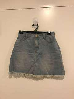 Ruby Denim Skirt 8