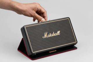 【紅豆美國代購】MARSHALL STOCKWELL  攜帶型行動電源藍芽喇叭(經典黑)