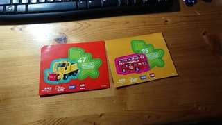 Tomica Christmas @ Olympian City stickers 貼紙