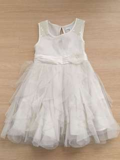 Flowergirl Party Dress in Off-white