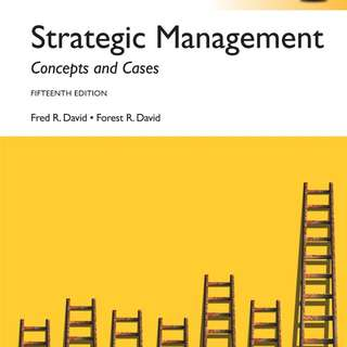 Strategic Management:Concepts and Cases