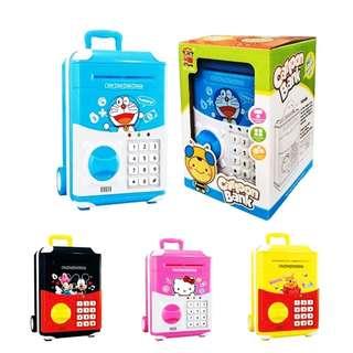 ATM Cash Vault Box Music Toys Tabung Mainan