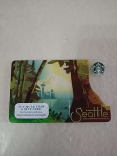 Starbucks 2016 Seattle Card