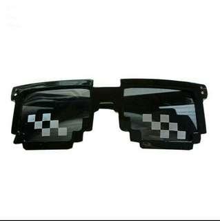 Pixelated pixel sunglasses