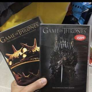 Game Of Thrones Season 1 And 2.(Last Copy)