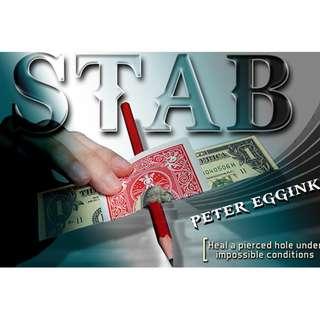 STAB - Peter Eggink magic trick