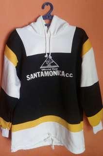 Sweater Hoodie Black Yellow