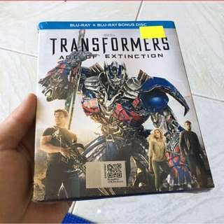 Transformers. Age Of Extinction Blu Ray.
