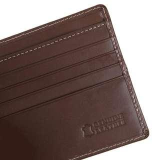 Eger 1989 Caballus Leather Wallet - Brown