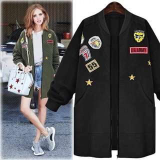 Patch Long Jacket