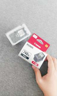 CANON Pixma PG-740XL Black Printer Ink Cartridge